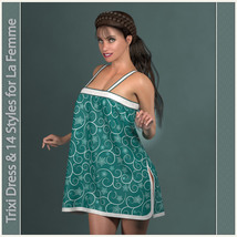 Trixi Dress and 14 Styles for La Femme image 4