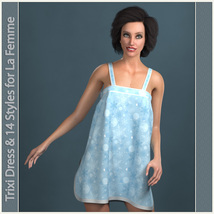 Trixi Dress and 14 Styles for La Femme image 5