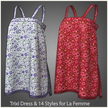 Trixi Dress and 14 Styles for La Femme image 6