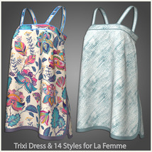 Trixi Dress and 14 Styles for La Femme image 7