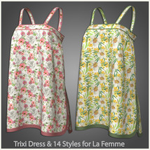 Trixi Dress and 14 Styles for La Femme image 8