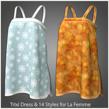 Trixi Dress and 14 Styles for La Femme image 9