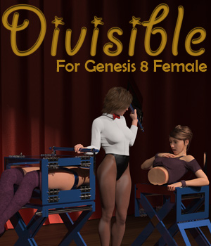 Divisible for Genesis 8 Female 3D Figure Assets MsFrankie