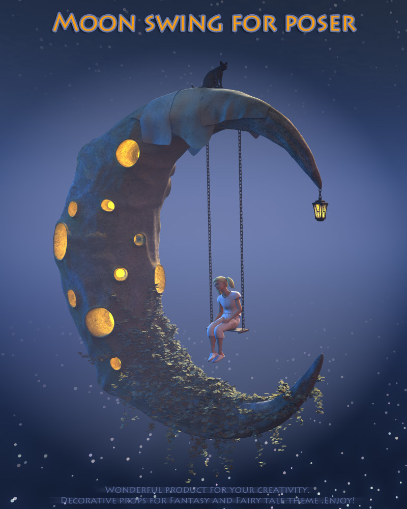 Moon swing for Poser by 1971s