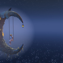 Moon swing for Poser image 1