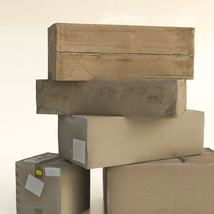 Photo Props: Cardboard Boxes image 1