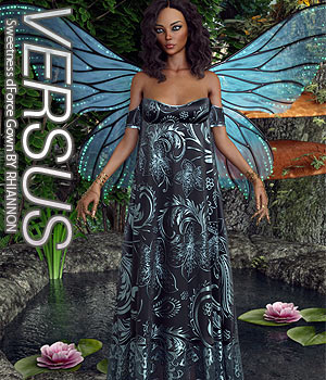 VERSUS - Sweetness dForce Gown 3D Figure Assets Anagord