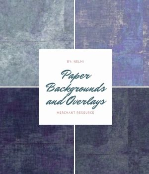 Paper Backgrounds and Overlays - MR 2D Graphics Merchant Resources nelmi