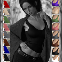 X-Fashion Crochet for Genesis 8 Female(s) image 4