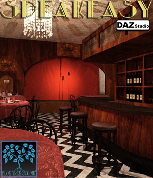 Speakeasy for Daz Studio 3D Models BlueTreeStudio