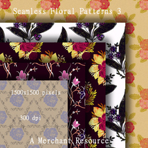 Seamless Floral Patterns 3  image 1