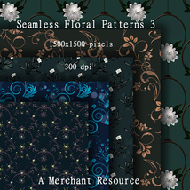 Seamless Floral Patterns 3  image 5