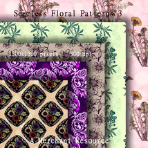 Seamless Floral Patterns 3  image 6