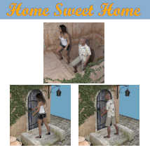 HOME SWEET HOME Poses for Charming House DS and Genesis 8 Figures (G8F/G8M) image 1