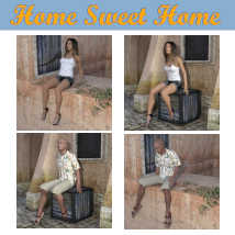 HOME SWEET HOME Poses for Charming House DS and Genesis 8 Figures (G8F/G8M) image 2