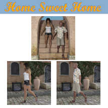 HOME SWEET HOME Poses for Charming House DS and Genesis 8 Figures (G8F/G8M) image 3
