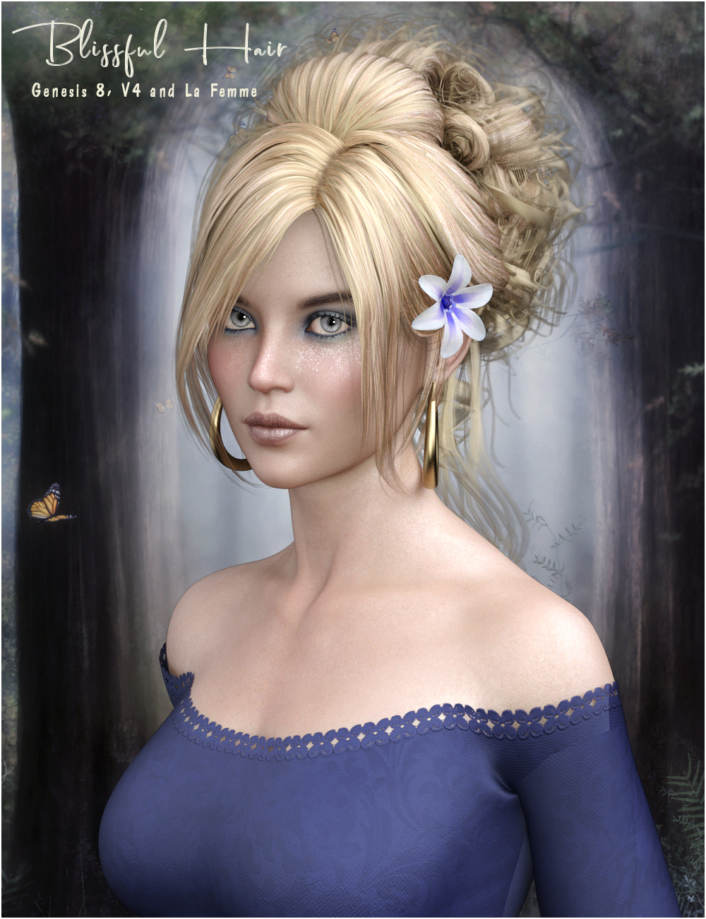 Blissful Hair G8/V4 and La Femme by RPublishing