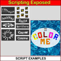 SCRIPTING EXPOSED Phrase-Maker Utilities, The Uncensored Daz Script Source Code image 4