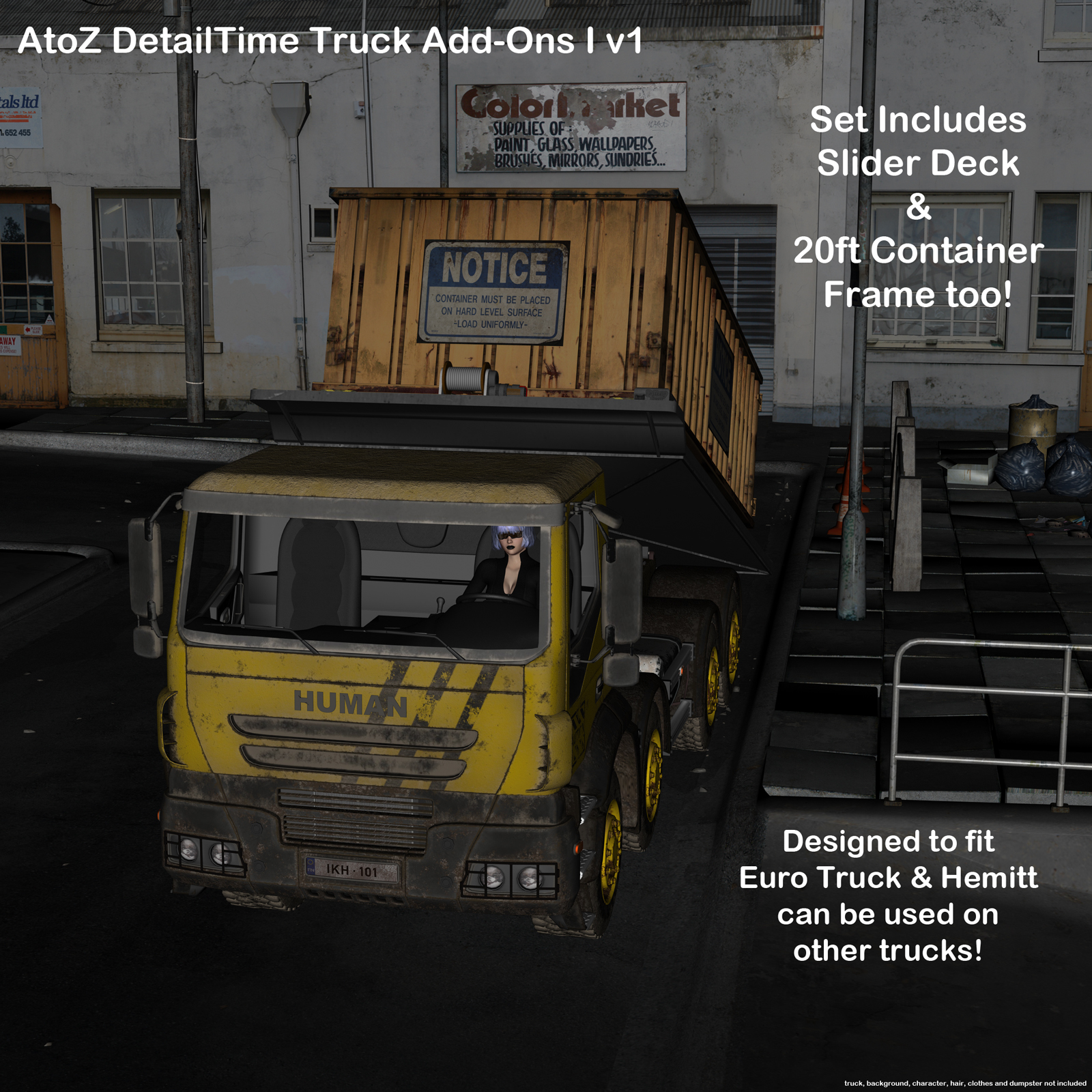 AtoZ DetailTime Truck Add Ons I v1 by AtoZ
