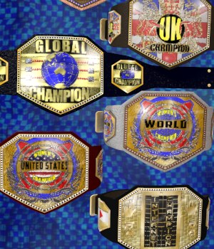 Championship Belt 3 for V4  3D Figure Assets 3D Models DexPac