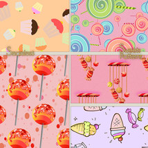Seamless Sweets Patterns image 1