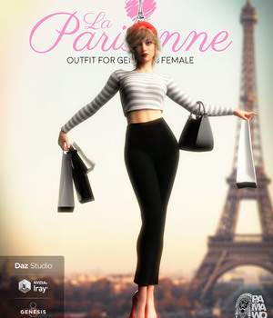 La Parisienne for GF8 3D Figure Assets pamawo