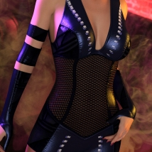 Fallout for  Impact Outfit for Genesis 8 Female(s) image 3
