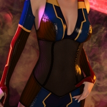 Fallout for  Impact Outfit for Genesis 8 Female(s) image 7