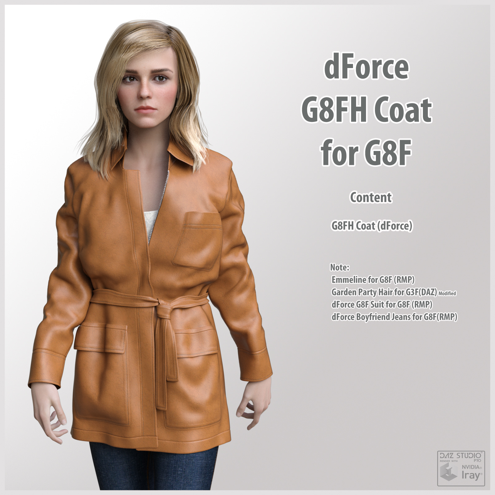 dForce G8FH Coat for G8F by kobamax