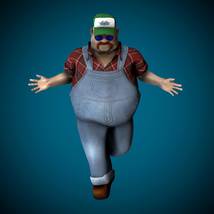 Mr Globetrotter Male Character - Extended License image 3