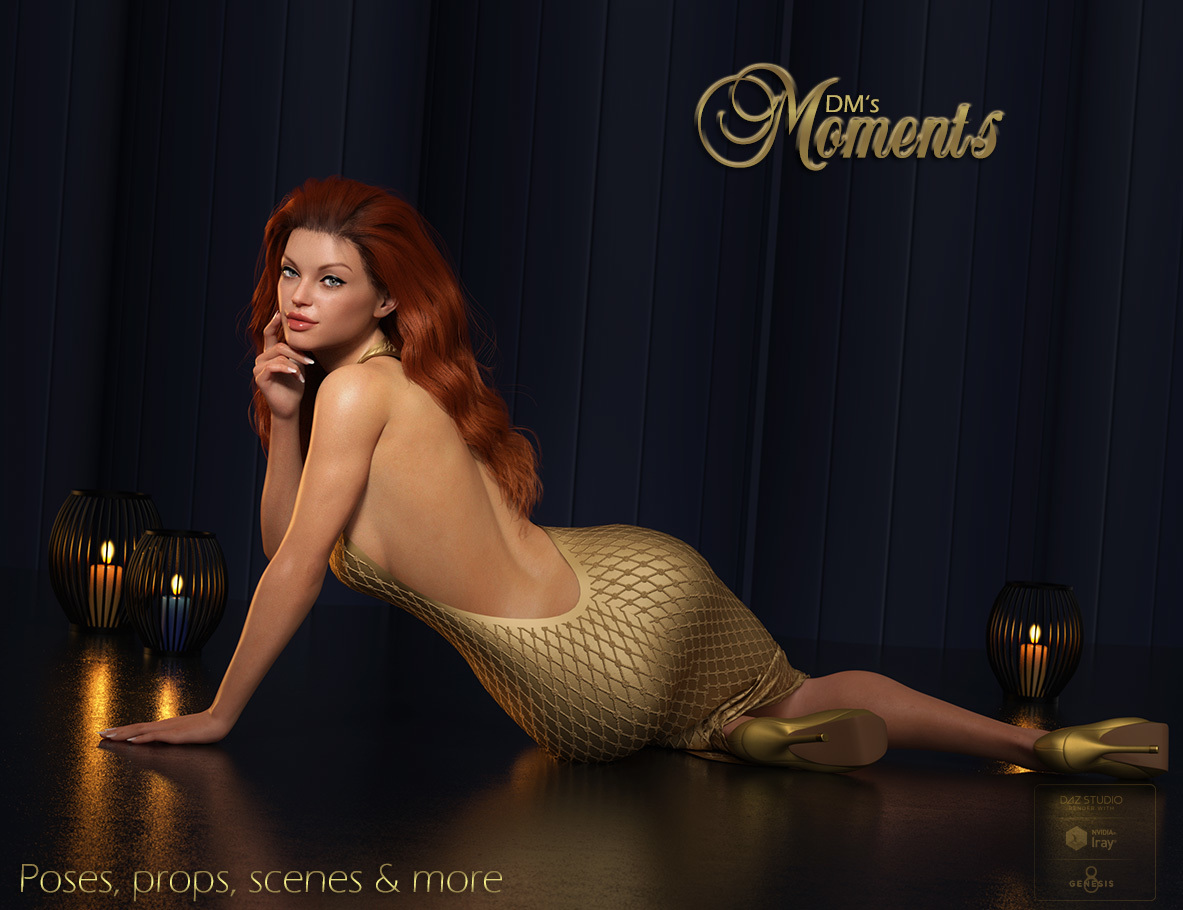 DMs Moments for Genesis 8 Female by DM