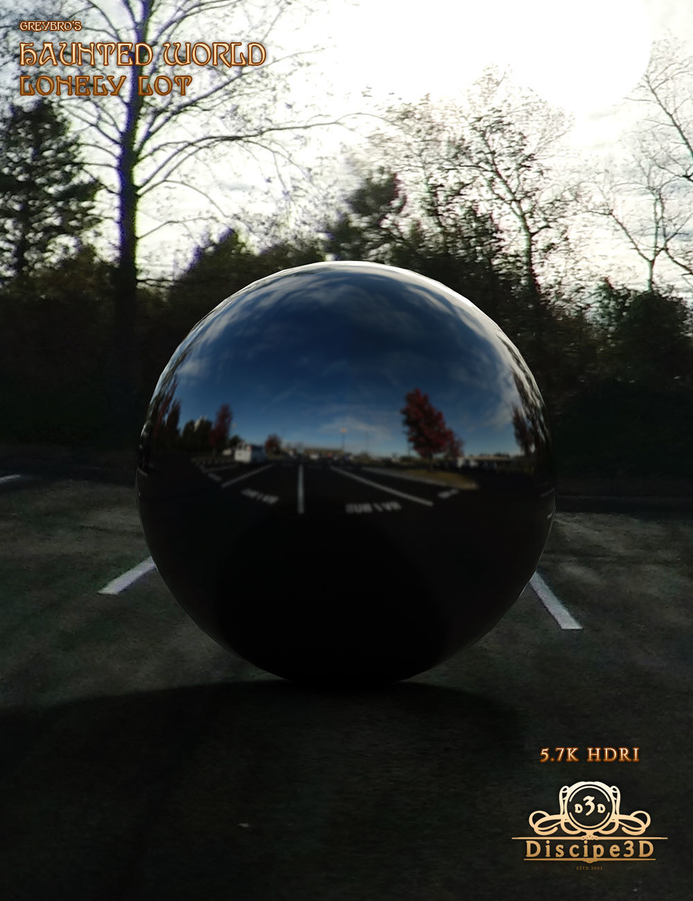 Greybro's Haunted World - Lonely Lot HDRI by Disciple3d