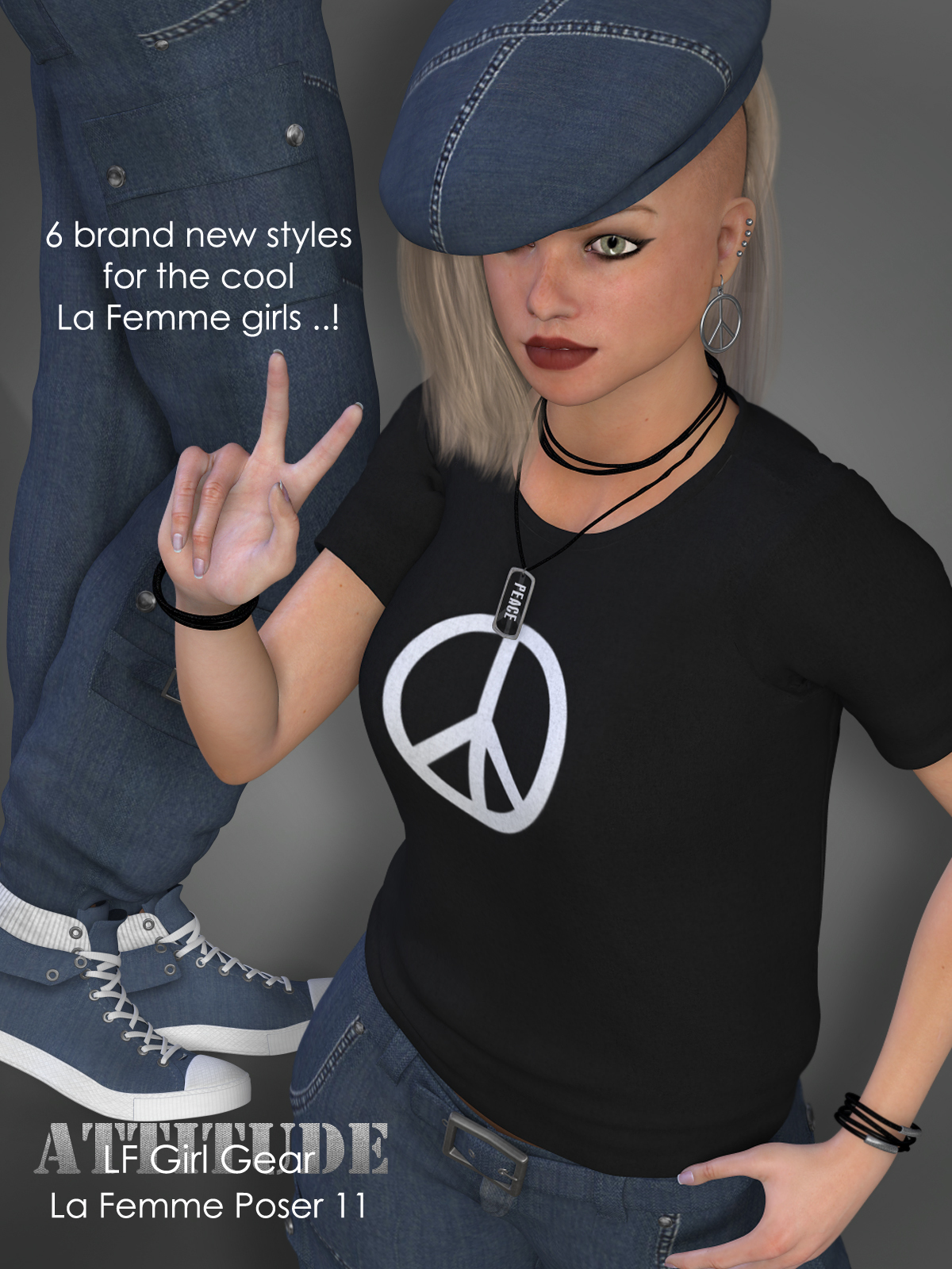 Attitude - RP Girl Gear for La Femme  and L'Homme by RPublishing