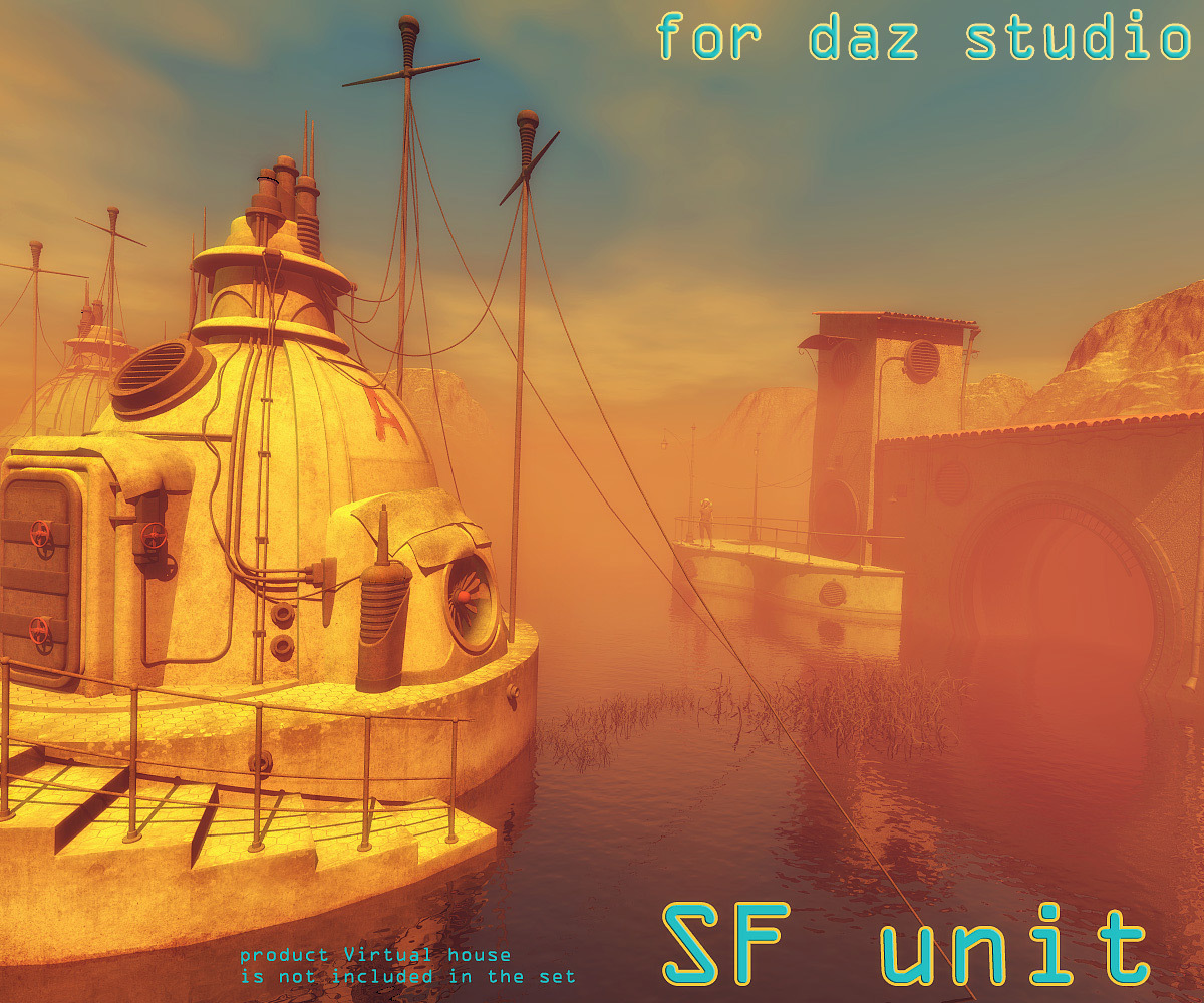 SF unit for Daz Studio