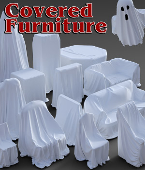 Covered Furniture for DS Iray 3D Models powerage