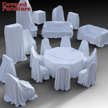 Covered Furniture for DS Iray image 1