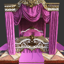 Royal Bed for DS Iray image 7