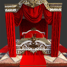 Royal Bed for DS Iray image 9