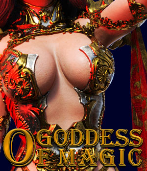 Goddess Of Magic for G8 females 3D Figure Assets powerage