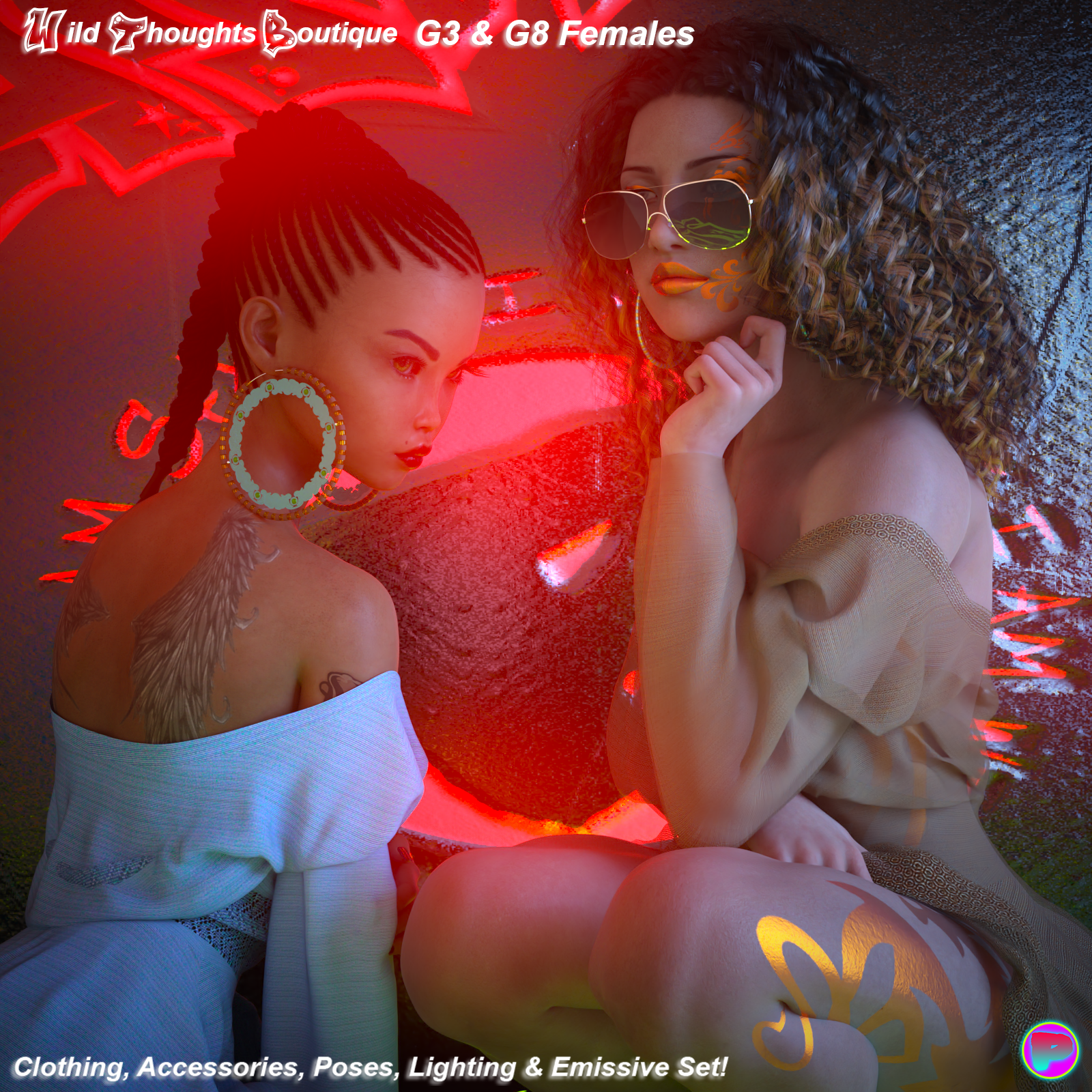 Wild Thoughts For G3 and G8 Females by Parallax3DArt
