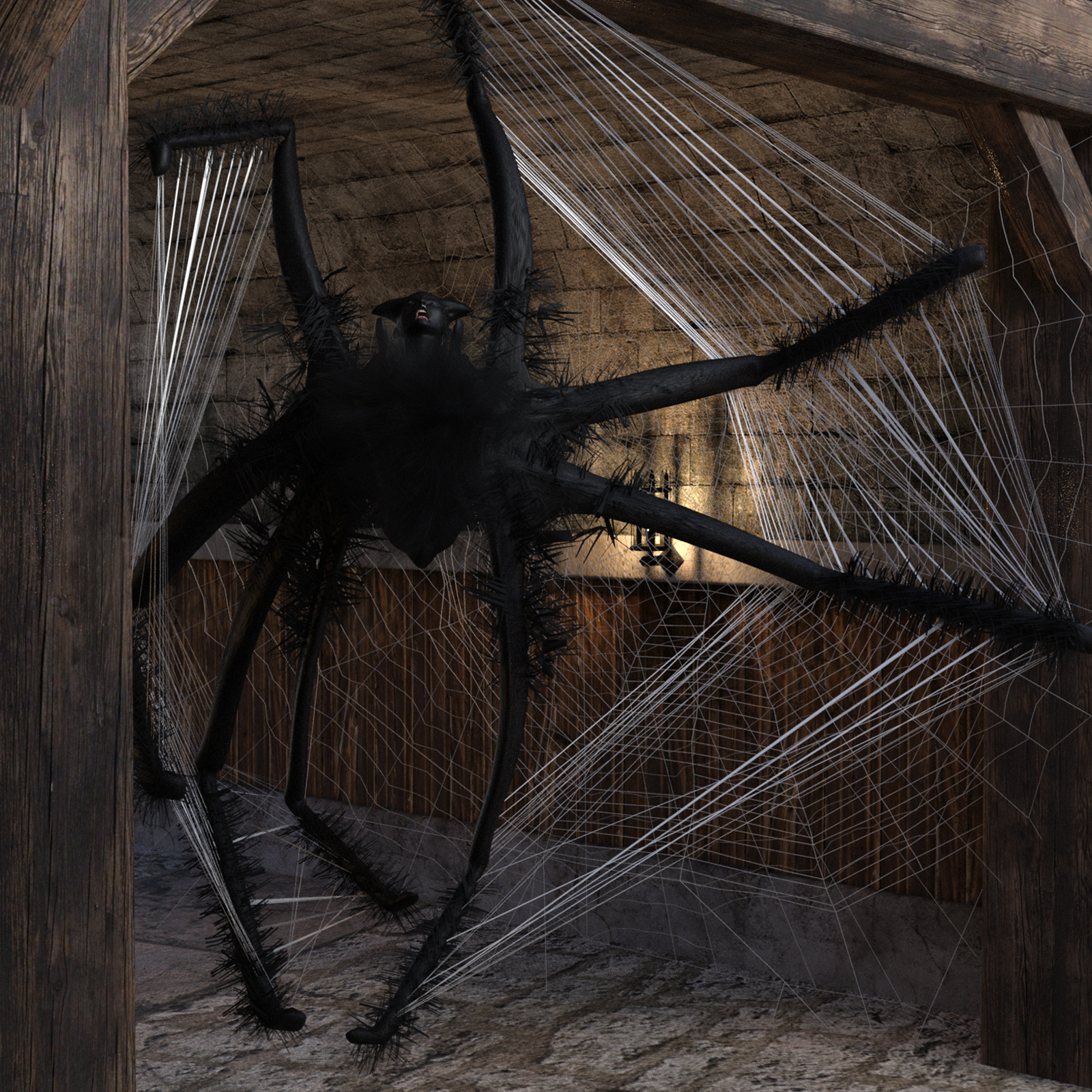 Spider Webs Addon for G8F by biala