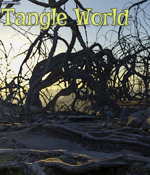 3D Scenery: Tangle World 3D Models ShaaraMuse3D