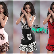 The Nanny Series: Elin Candy Dress G8F image 1