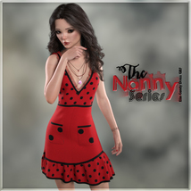 The Nanny Series: Elin Candy Dress G8F image 7