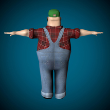 Mr Globetrotter Male Character PRO - Extended License image 2