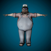 Mr Globetrotter Male Character PRO - Extended License image 4