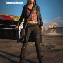 SC Wastelander Outfit for Genesis 8 Female image 1