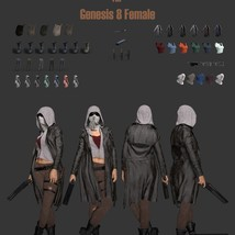 SC Wastelander Outfit for Genesis 8 Female image 8
