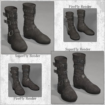 PBR Styles for LF Biker Boots image 2