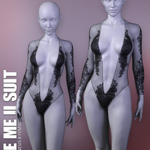 See Me II Suit for Genesis 8 Females image 7